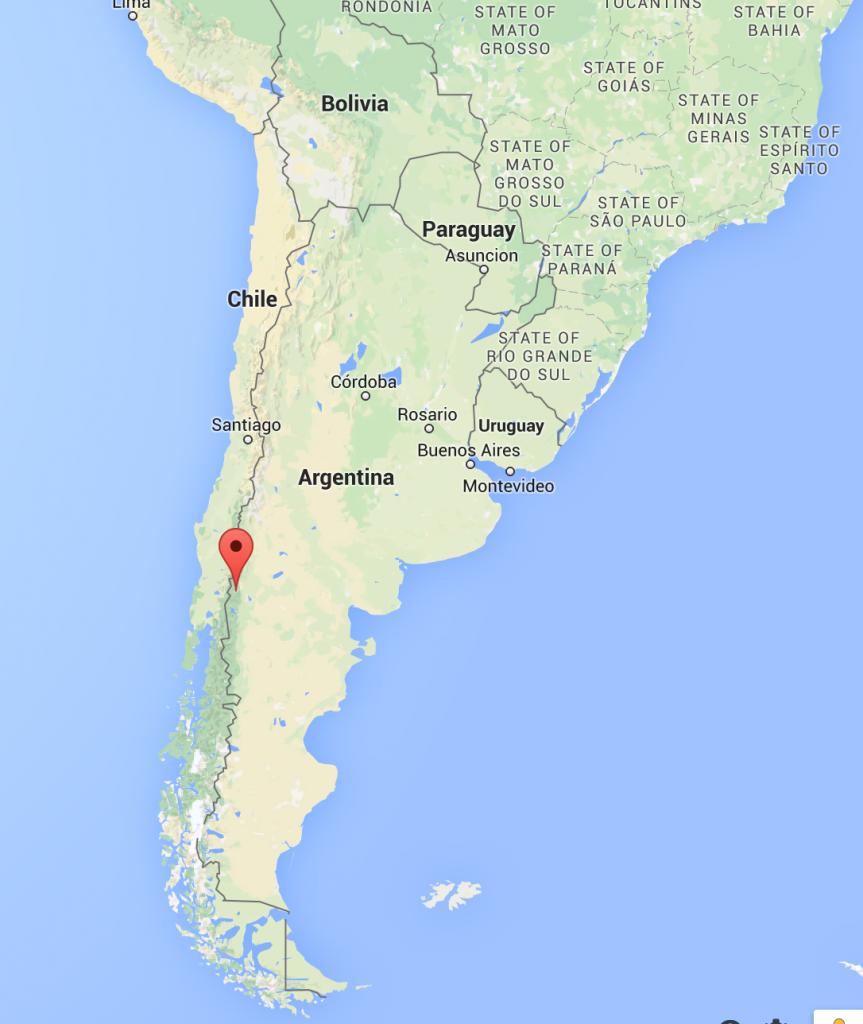 San Martín de los Andes, Google Maps